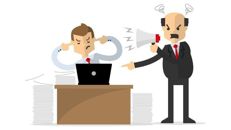 会社や職場を食い尽くす老害上司とは?