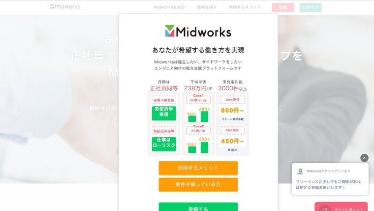 Midworks(ミッドワークス)の情報